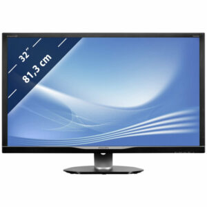 "Monitor PHILIPS ""328P6VJEB"", Black"