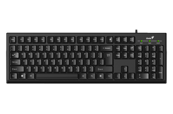 Keyboard Genius Smart KB-100, Customizable Function Keys F1-F12 – http://ru.geniusnet.com/product/smart-kb-100