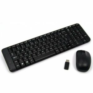 Logitech Wireless Combo MK220, Keyboard & Mouse, USB, Retail