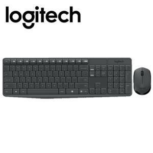 Logitech Wireless Combo MK235, Keyboard & Mouse, USB, Retail