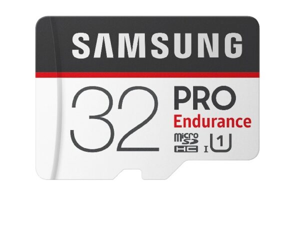 Micro SDHC Card 32GB Samsung PRO Endurance C10  (R/W:100/30MB/s) UHS-I (U3)+SD adapter MB-MJ32GA