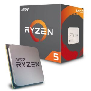 Procesor AMD Ryzen 5 2600 2nd Gen.(3.4-3.9GHz, 6C/12T,L2 3MB, L3 16MB,65W,12nm), Socket AM4, BOX