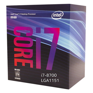 Procesor Intel Core i7-8700 3.2-4.6GHz (6C/12T,12MB,S1151,14nm, UHDGraphics 630, 65W) BOX