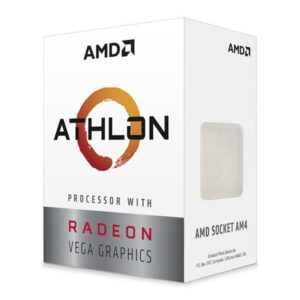 Procesor AMD Athlon 220GE (3.4GHz, 2C/4T,L2 2MB, L3 4MB, 35W,14nm, VEGA 3), Socket AM4, Box