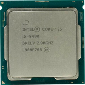 CPU Intel Core i5-9400 2.9-4.1GHz (6C/6T, 9MB, S1151, 14nm, Integrated UHD Graphics 630, 65W) Tray