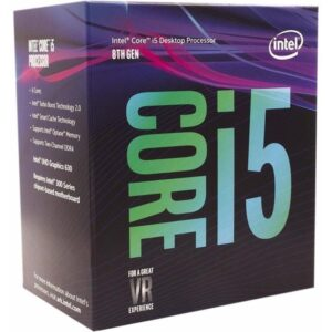 CPU Intel Core i5-9400 2.9-4.1GHz (6C/6T, 9MB, S1151, 14nm, Integrated UHD Graphics 630, 65W) Box