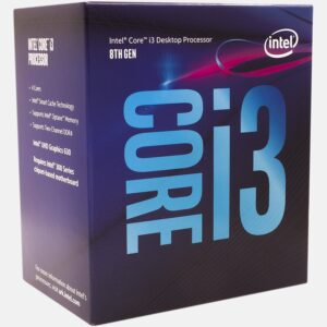 CPU Intel Core i3-8100 3.6GHz (4C/4T, 6MB, S1151,14nm, Integrated Intel UHD Graphics 630, 65W) Box